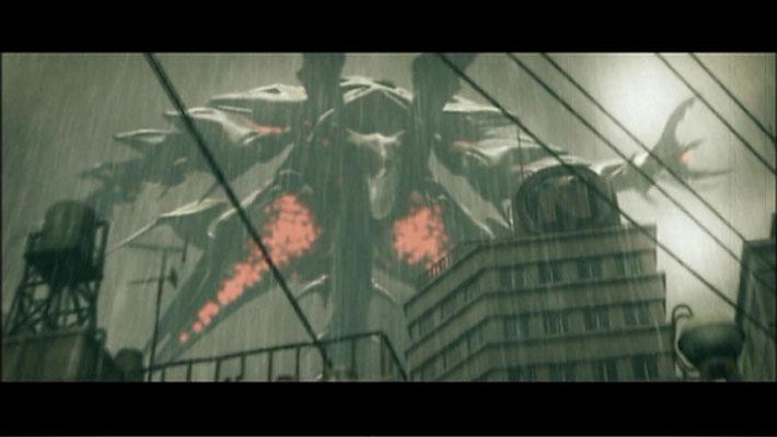 Das Weltraum-Monster NEGADON zerstört große Teile von Tokio