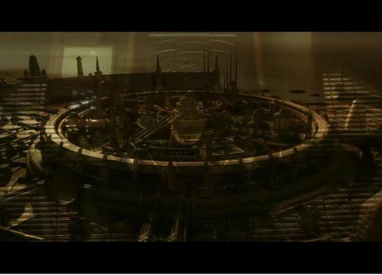 Die Hauptstadt von Romulus weist gewisse Ähnlichkeiten mit dem sagenumwobenen Atlantis auf
