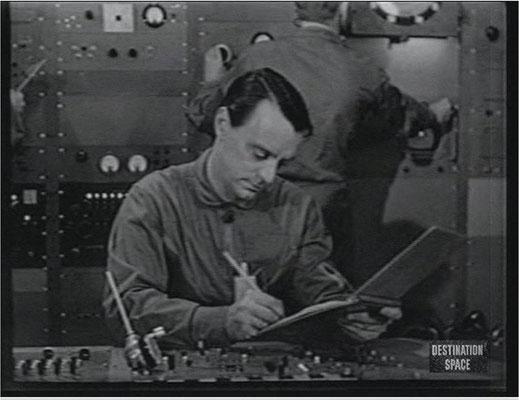 Harry Townes als Jim Benedict in einer der ambitionierten und sehr gut gelungenen Kulissen