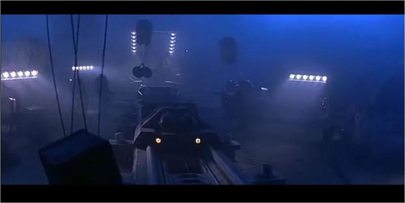 Die Tiefseestation Shack 7 wurde visuell hervorragend umgesetzt. ILM leistete bei den Spezialeffekten ganze Arbeit