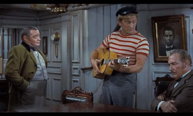 Kirk Douglas wie man in kennt und liebt: als lustigen, angstlosen Haudege
