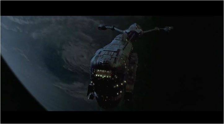 """Das Bergungsschiff  """"Lewis & Clark"""" startet zu einer Rettungsmission Richtung Neptun"""