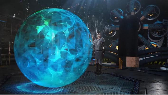 auch Cyberpunk-Elemente umfasst Starhunter