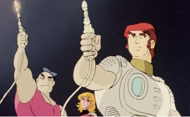 Captain Future, Otto und Joan so wie wir sie kennen und lieben