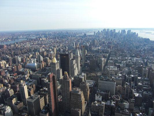 über der Stadt (Blick aus dem Empire)