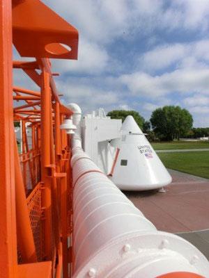Rocket Garden - Weltraumkapsel zum Betreten - einmal selbst die Enge spüren