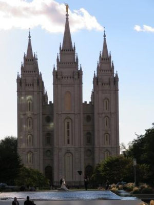 Salt Lake Temple in SLC