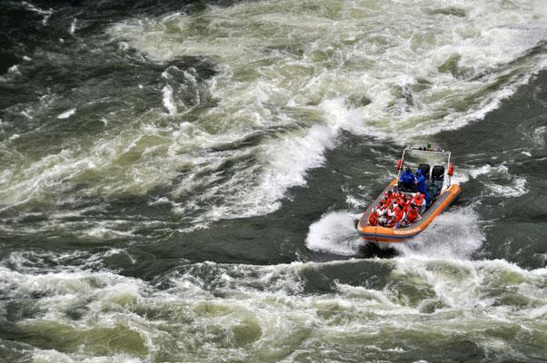 Iguazu Wasserfälle Argentinien Brasilien Rafting
