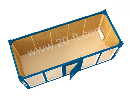 Блок-модуль с витринами Containex