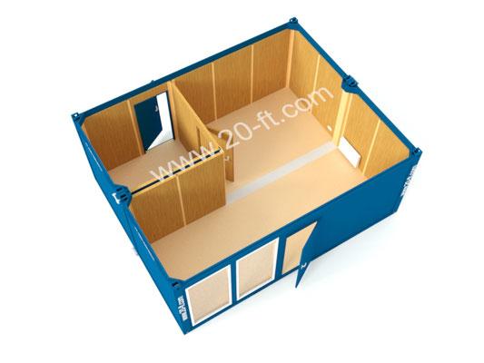 Сдвоенный модуль под магазин
