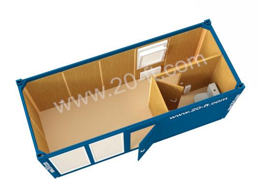 Блок-модуль офис продаж 14м2