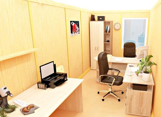Пример офиса на два сотрудника
