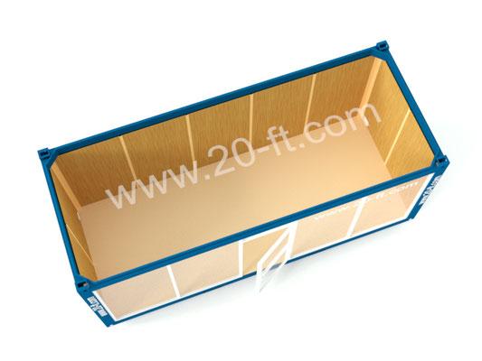 Блок-модуль с витриной