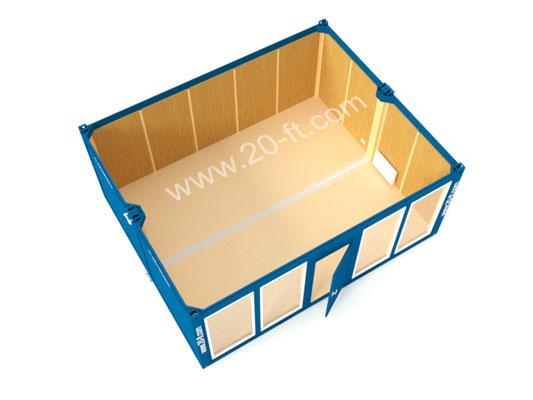 Сдвоенный модуль с витринами