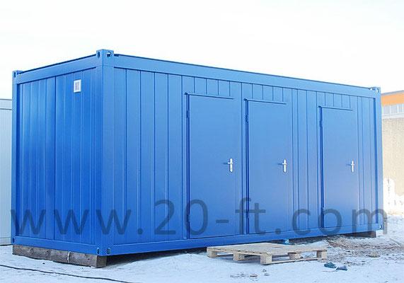 Автнономный туалетный модуль Containex