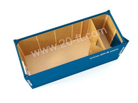Блок-контейнер ТР20 с тамбуром