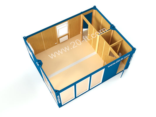мобильный офис продаж 28м2