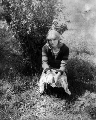 Елена Роландовна Аудзеспиедурс. Фото 1981г.