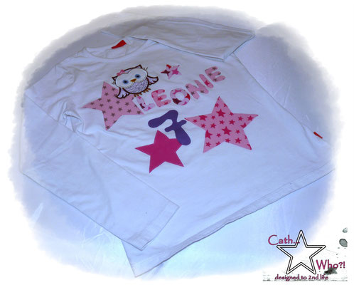PIMP MY SHIRT! Aus einem langweiligen weißen Shirt, wird ein Geburtstagsshirt!