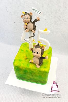 Kleine Äffchen zum 45. Geburtstag von Hansruedi