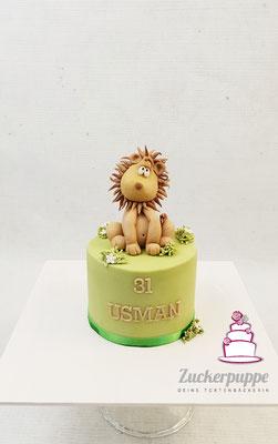 Ein kleiner Löwe zum 31. Geburtstag von Usman