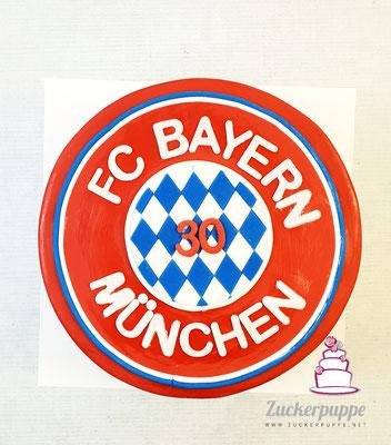 FC Bayern-München Torte zum 30. Geburtstag von Arber