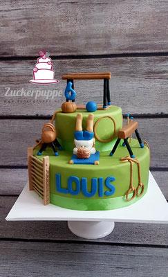 Turntorte zum 6. Geburtstag von Louis