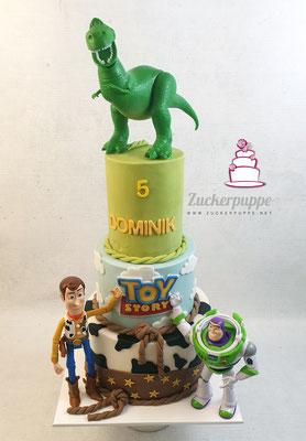 ToyStory-Torte zum 5. Geburtstag von Dominik