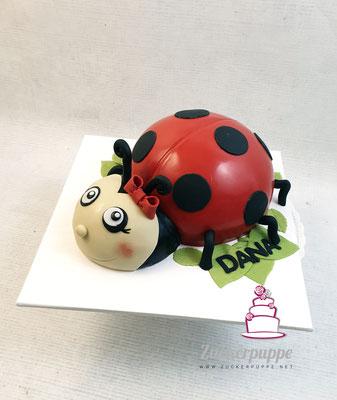 Marienkäfer - Torte zum 7. Geburtstag von Dana