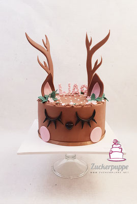 Reh - Torte zum 9. Geburtstag von Lia