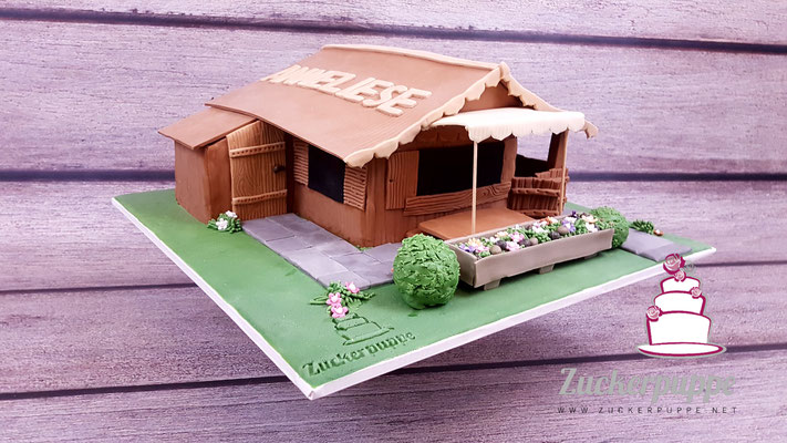 Gartenhaus zum 57. Geburtstag von Anneliese