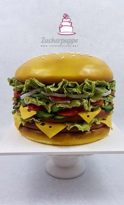 BurgerTorte zum 15. Geburtstag von Alessandro