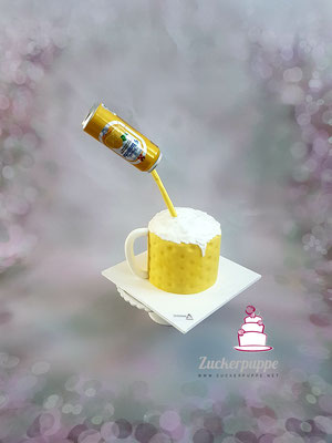Eine etwas Grössere Panache - Torte zum 22. Geburtstag von meiner Freundin Luana