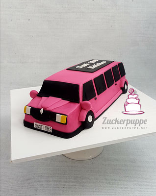 Stretch - Limousine zum 39. Geburtstag von Gusti