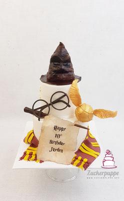 Harry Potter Torte zum 10. Geburtstag von Jayden