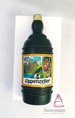 Appenzeller Alpenbitterflasche zum 30. Geburtstag von Nadine