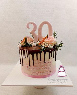 Dripcake zum 30. Geburtstag von Semine