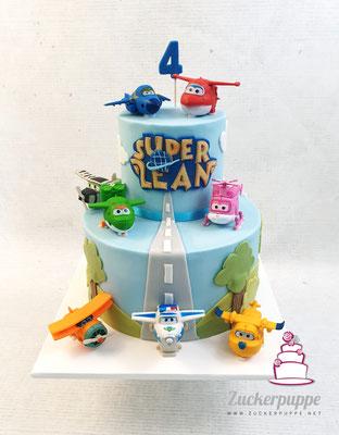 SuperWings zum 4. Geburtstag von Lean