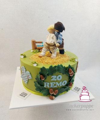 Schwingertorte zum 20. Geburtstag von Remo