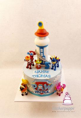 PawPatrol Torte zum 5. Geburtstag von Thomas