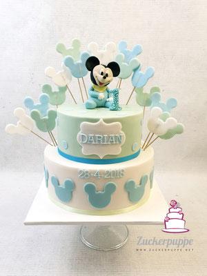 Baby-MickeyMouse zum ersten Geburstag von Darian