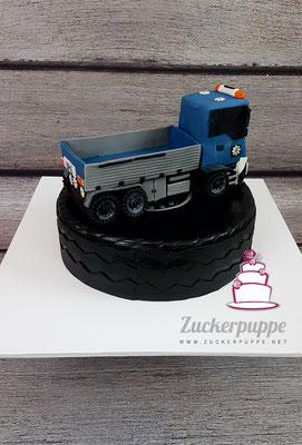 Zum 40. Geburtstag von Urs, sein Lastwagen in klein und süss