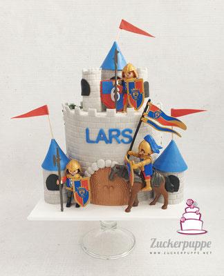 Ritterburgtorte zum 6.Geburtstag von Lars