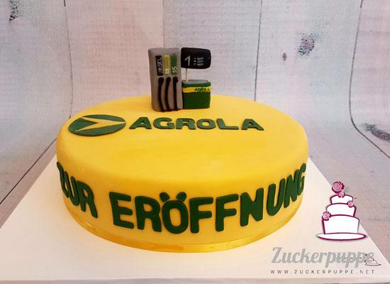 Zur Eröffnung des AgrolaShops in Teufen