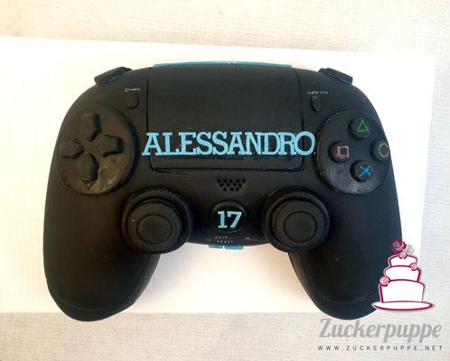 PlayStation - Controller zum 17. Geburtstag von Alessandro