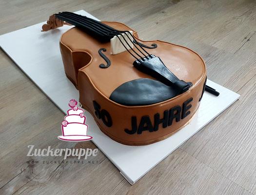 Eine Violine zum 50. Geburtstag von Josef