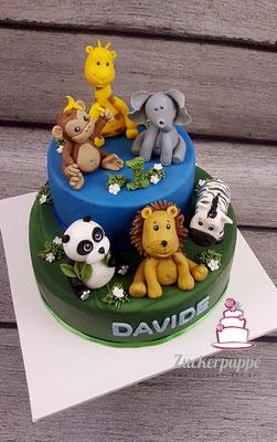 Zootiere zum 1. Geburtstag von Davide