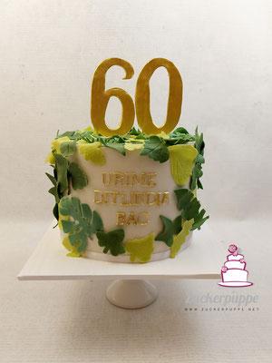 Verschiedene Zimmerpflanzenbätter zum 60. Geburtstag von Selman
