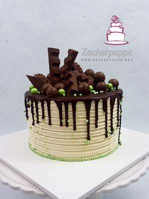 Dripcake mit viiel Schokolade zum 23. Geburtstag von meinem Bruder Bruno