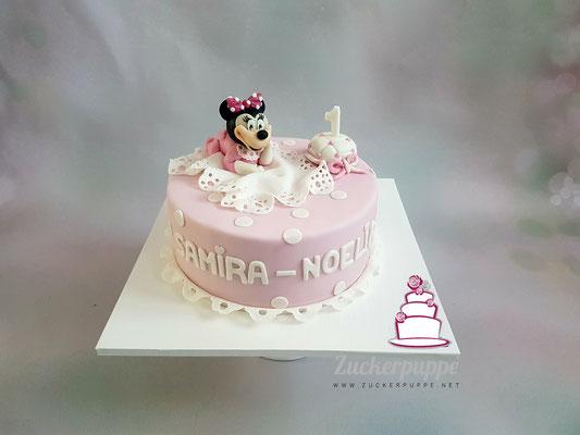 Minnie Mouse zum 1. Geburtstag von Samira - Noelia